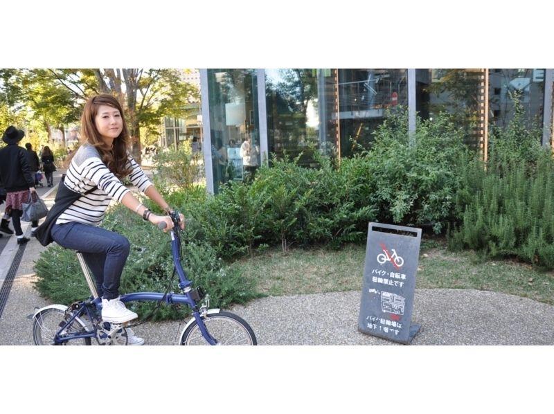 [東京虎之門票據]青山,引進自行車道6小時野餐的形象與周圍的表參道的午餐
