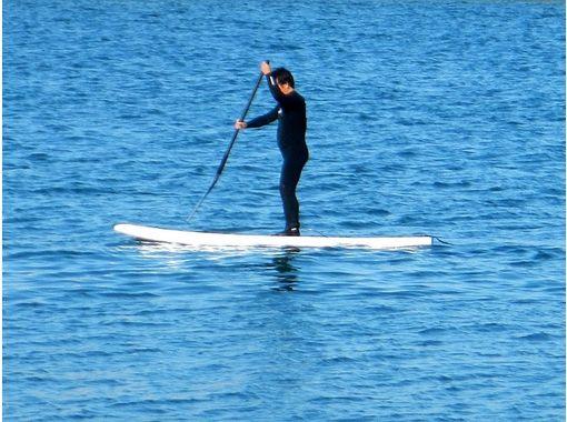 [Ibaraki, Oarai coastal] SUP Fitness (P-Fit) courseの紹介画像