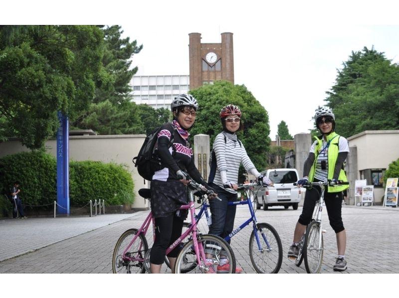 【東京・虎ノ門ヒルズ】東京ブラサイクリング 季節のおまかせコース6時間の紹介画像