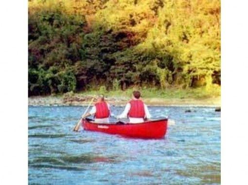 [长野/大町市加拿大独木舟]课程-青木湖半日课程[提供午餐或烧烤课程]の紹介画像