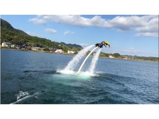 【Kagoshima · Ikeda Lake】 Fly board experience school 【beginner warm welcome! 】の紹介画像