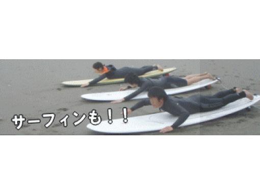 【新潟・阿賀野川】サーフィン体験(半日コース)