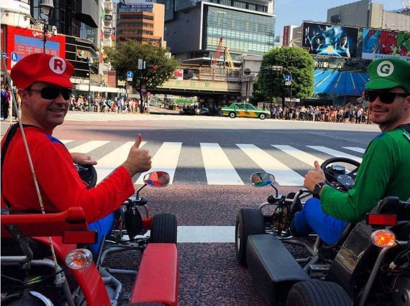 [Akihabara, Tokyo] sprint in the cart the streets of Tokyo! ! Introduction to image