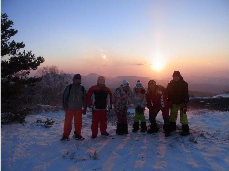 【群馬・吾妻】スノーシューで歩く!雪の森探検2時間コースの紹介画像