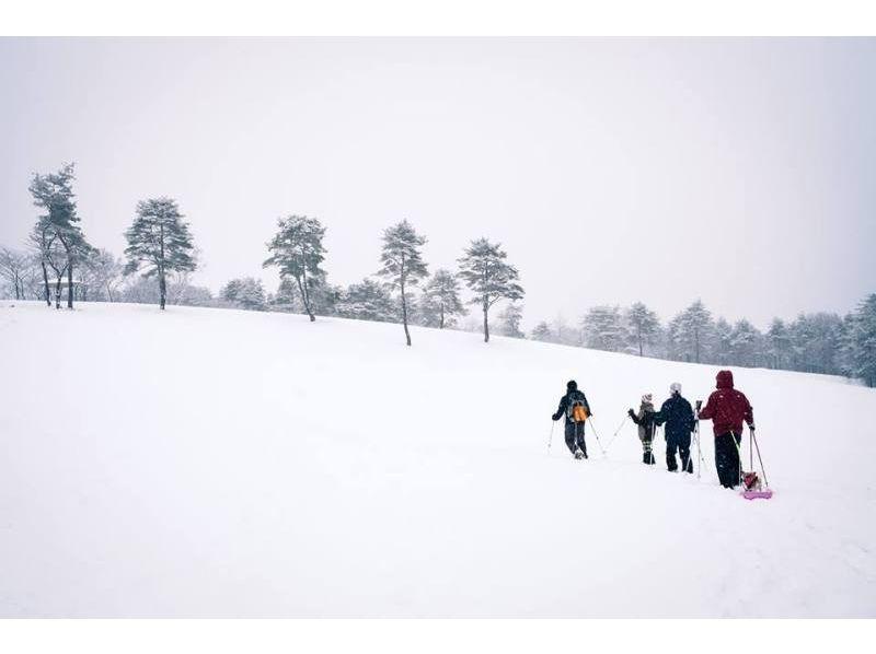 【群馬・吾妻】スノーシューで歩く!雪の森探検3時間コースの紹介画像