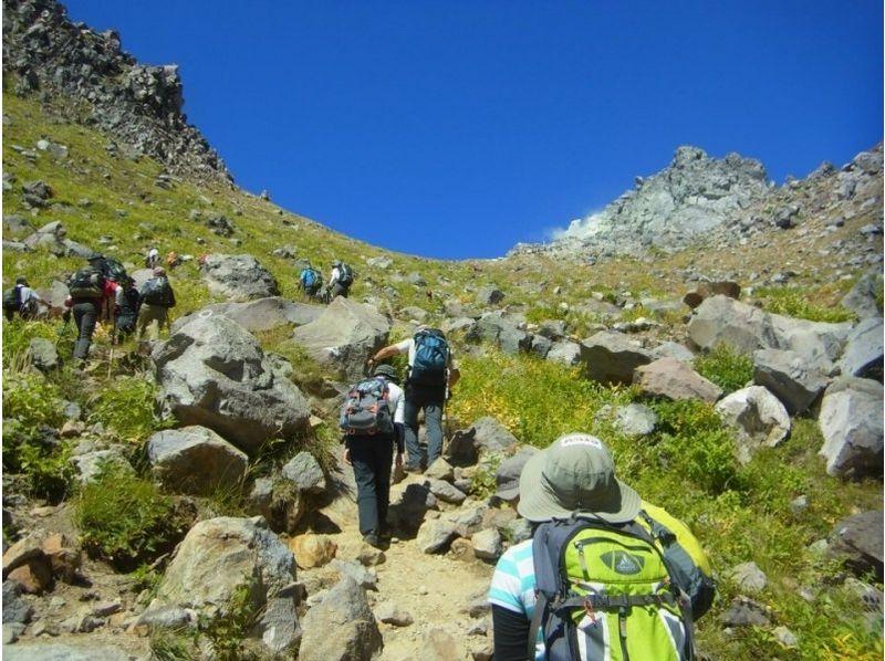 乗鞍岳ガイドトレッキング 1日ツアーの紹介画像