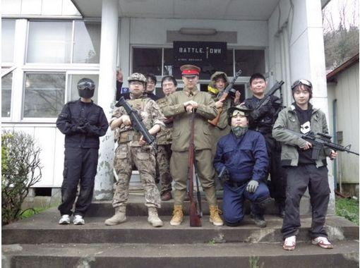 【福島・郡山】「兵舎」でサバゲー・貸切プラン!