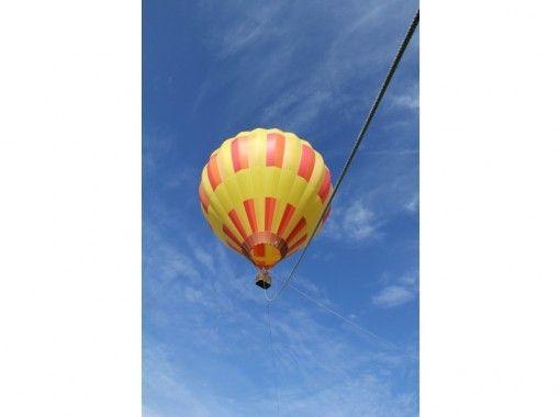 【北海道・ニセコ】 朝の光の中でふんわりと浮かぶ熱気球係留フライト体験!