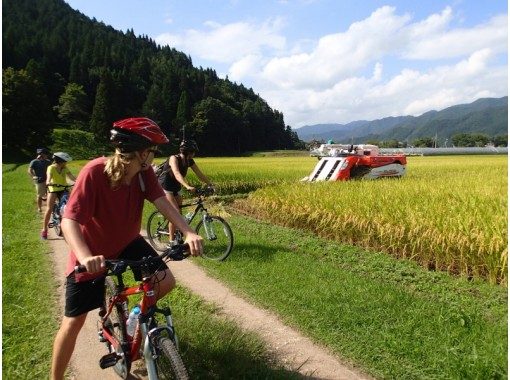 【岐阜・高山】飛騨里山サイクリング / 半日ガイドツアー