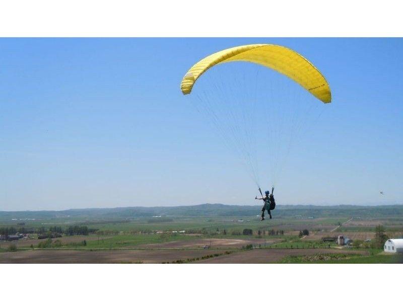 [Hokkaido Tokachi] paragliding lesson of introduction image