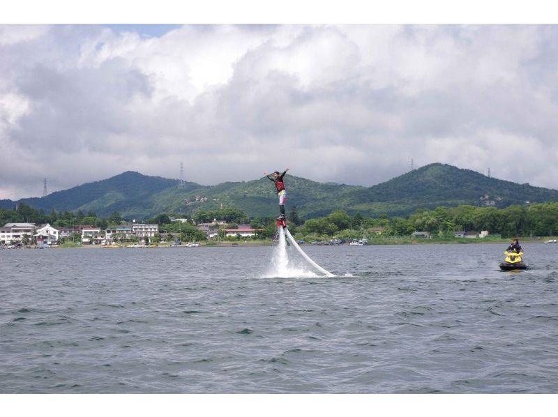 【山中湖】フライボードをお得にもっと!40分体験コース【午後】の紹介画像