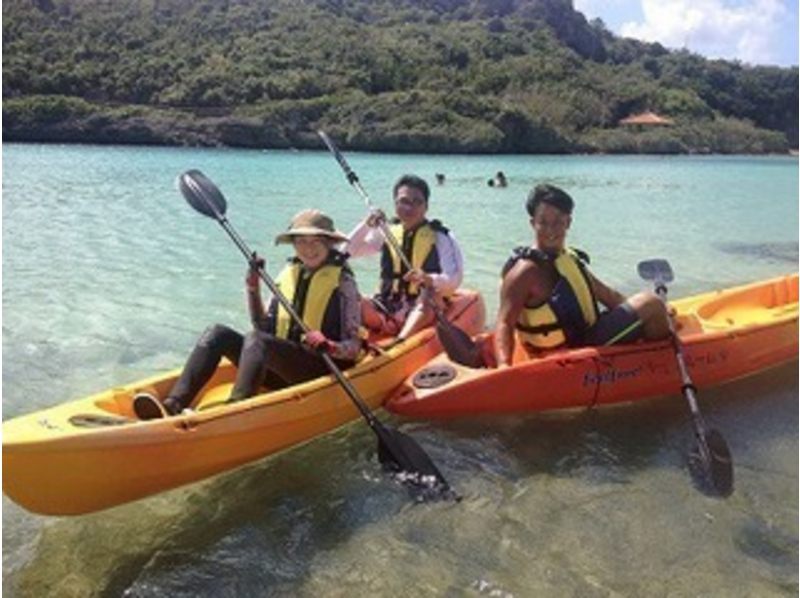 [Okinawa Miyakojima] sea kayaking B course limestone cave exploration & Snorkel lunch with the introduction image
