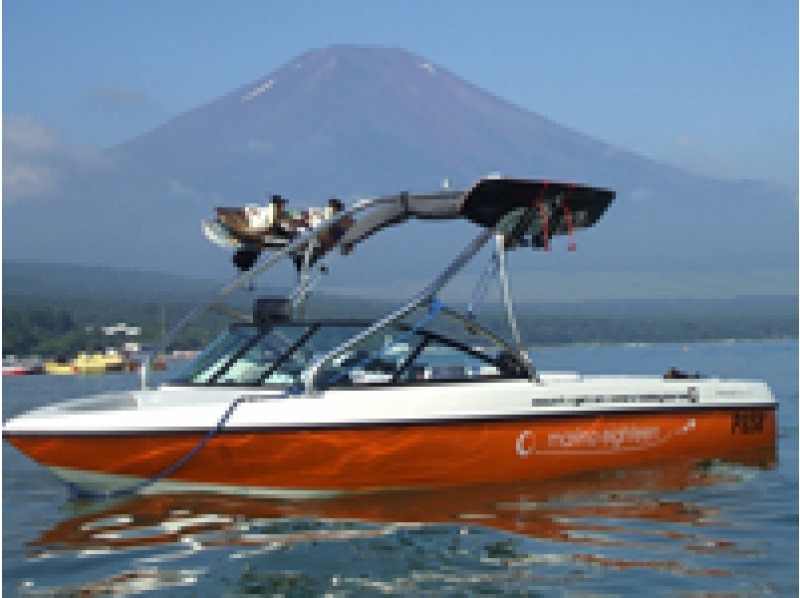[Yamanaka] [rental:] superb view! Fuji Mountain! ! Stand up paddle boat rental (1 hour) [afternoon] Introduction image
