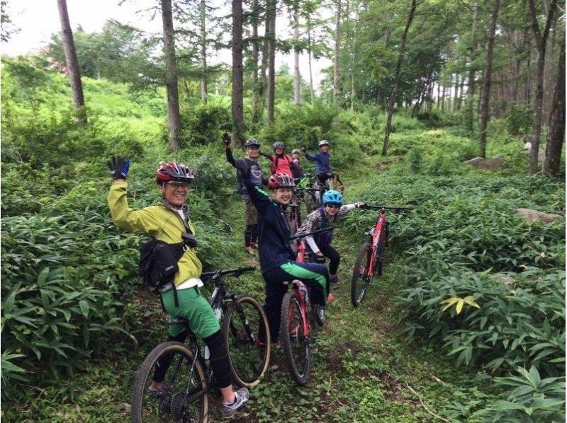 yamanashi kobuchizawa yatsugatake mountain biking touring with