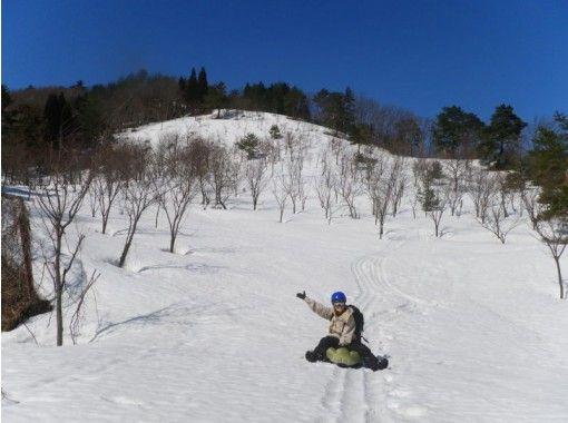 【岐阜】プチバックカントリーを満喫! エアーボード+スノーシュー半日コース(午前・午後)