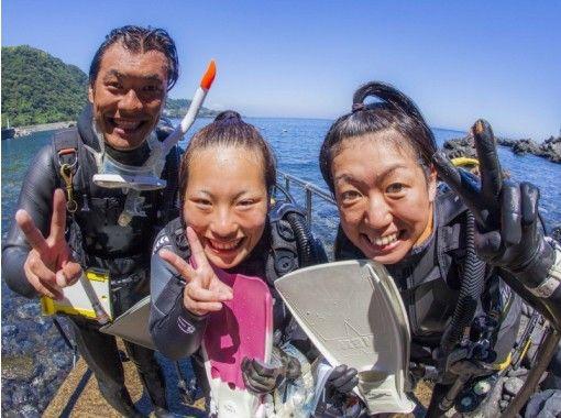 【静岡・熱海】※地域共通クーポン利用可!少人数制で安心!Let's 体験ダイビング