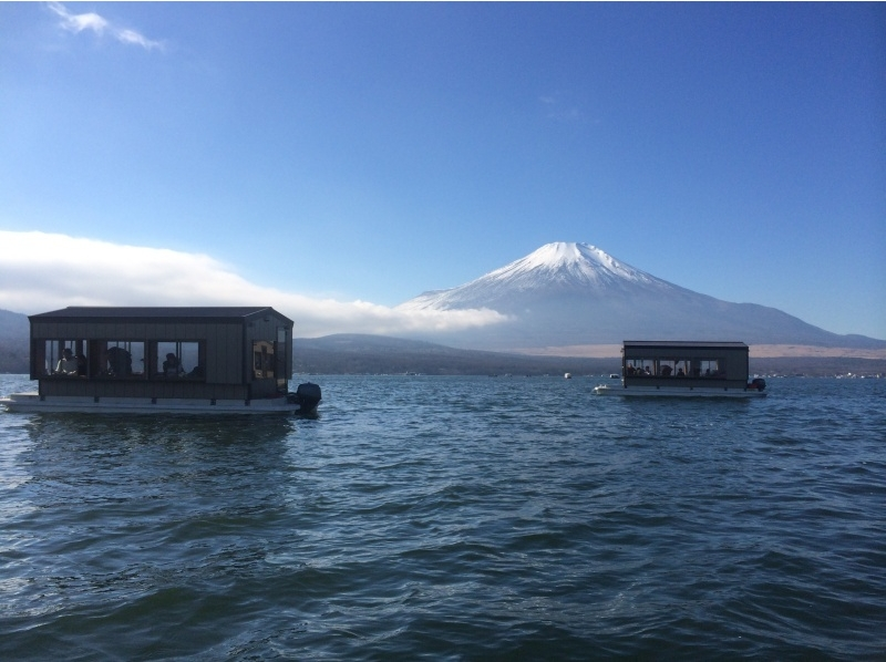 [Yamanashi Yamanakako] also have tempura in option! Up to 7 hours dome ship smelt fishing introduction image of [rental included adults 5000 yen;