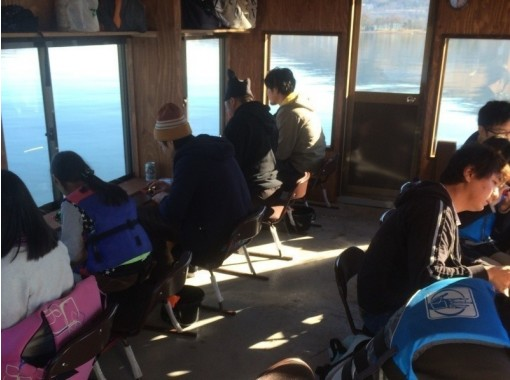 【山梨・山中湖】オプションで天ぷらも有!最大7時間ドーム船ワカサギ釣り【レンタル込大人5000円】