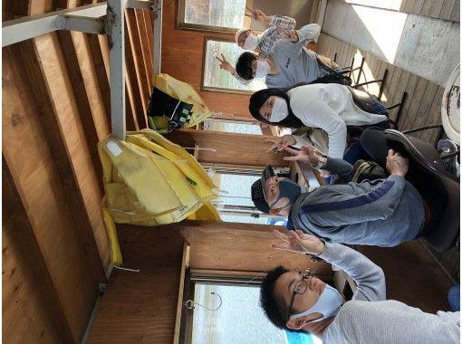 [山梨/山中湖]最多可容納10人的圓頂船7個小時冰釣!天婦羅套裝也可通過追加獲得!の紹介画像