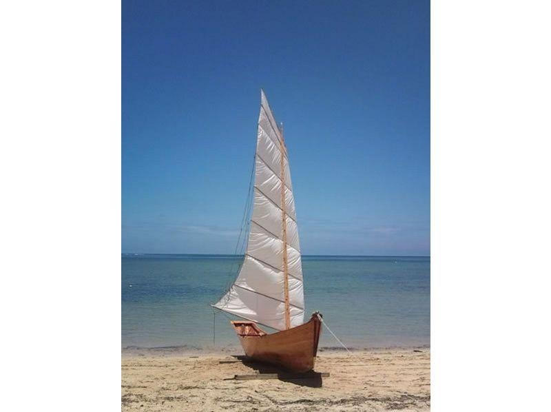 【沖縄・西表島】沖縄伝統の帆掛け舟 木造舟フーカキサバニ体験の紹介画像