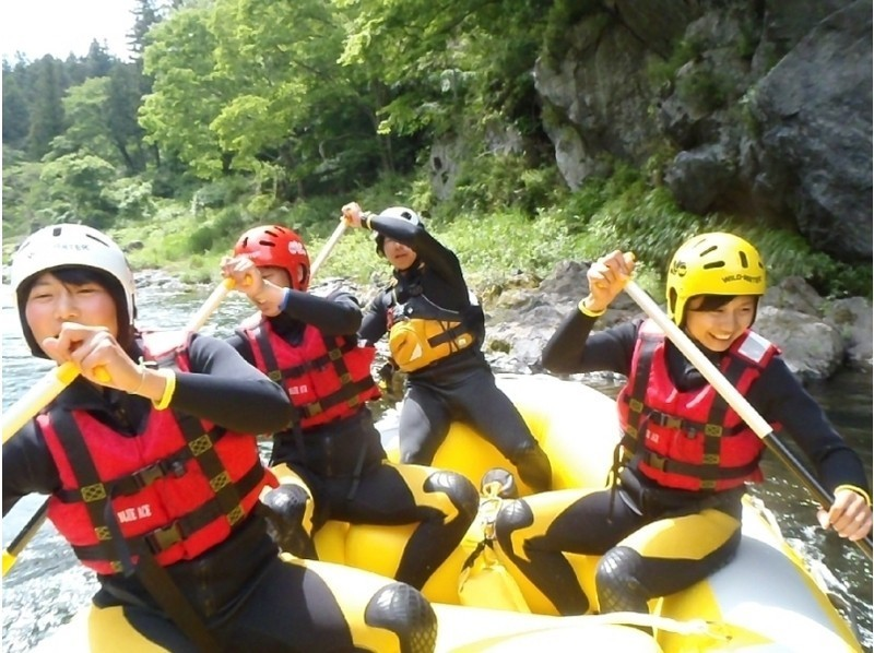 【Tokyo · Okutama】 Standard Rafting Tour <You can also have a holiday · BBQ! · Group rate available! > Introduction image