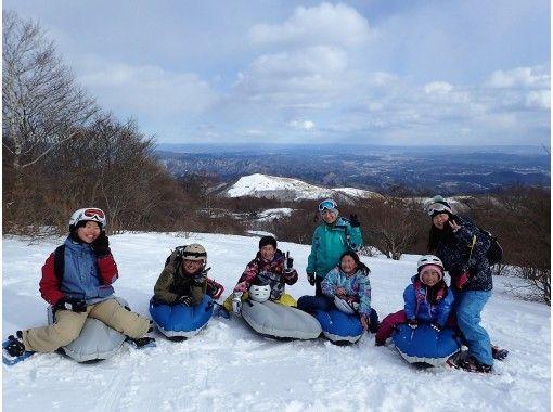 【栃木・日光】霧降高原スノーシュー&エアボード体験ツアー!欲張り雪遊び!(1日・ランチ付)