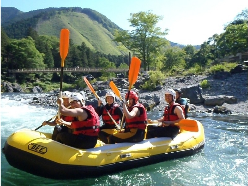 【Tokyo · Okutama】 Weekday rafting tour <Weekday · BBQ can be done! · Group rate available! > Introduction image