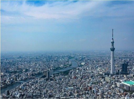 【東京発】上空600mの絶景ツアー!観光名所をヘリコプター遊覧飛行体験(10分)の紹介画像