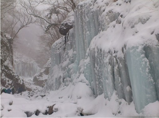 [Tochigi/ Nikko] Mysterious adventure experience for a limited time! Unryu Valley Icefall Trekking Tour (1 day) For healthy legs!の紹介画像