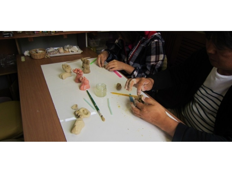 【沖縄・今帰仁村】沖縄の守り神!シーサー作り体験の紹介画像