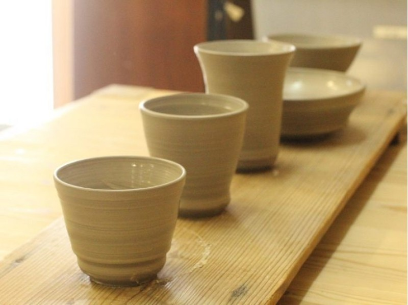 [Kyoto, Yasaka, Ceramics] can be made handy in about 30 minutes! Let's make my cup in the electric potter's wheel! Introduction to image