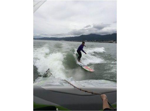 【滋賀・琵琶湖】ボートサーフィン体験プラン!