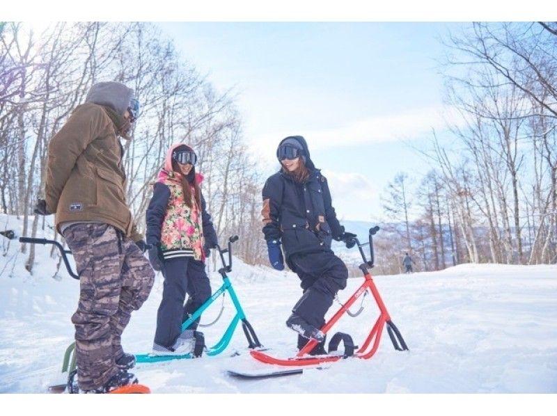 【新潟】新スノースポーツにチャレンジ!スノーバイクスクール【神立高原スキー場】の紹介画像