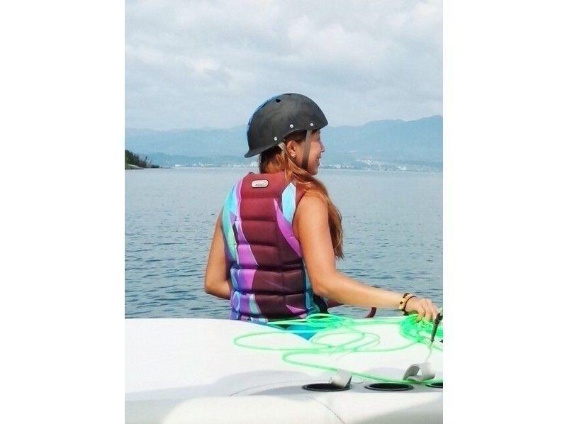 【滋賀・琵琶湖】レジャーパック【バナナボート&ウェイクボード体験】の紹介画像