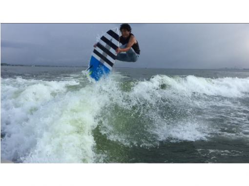 【滋賀・琵琶湖】レジャーパック【バナナボート&ウェイクサーフィン体験】