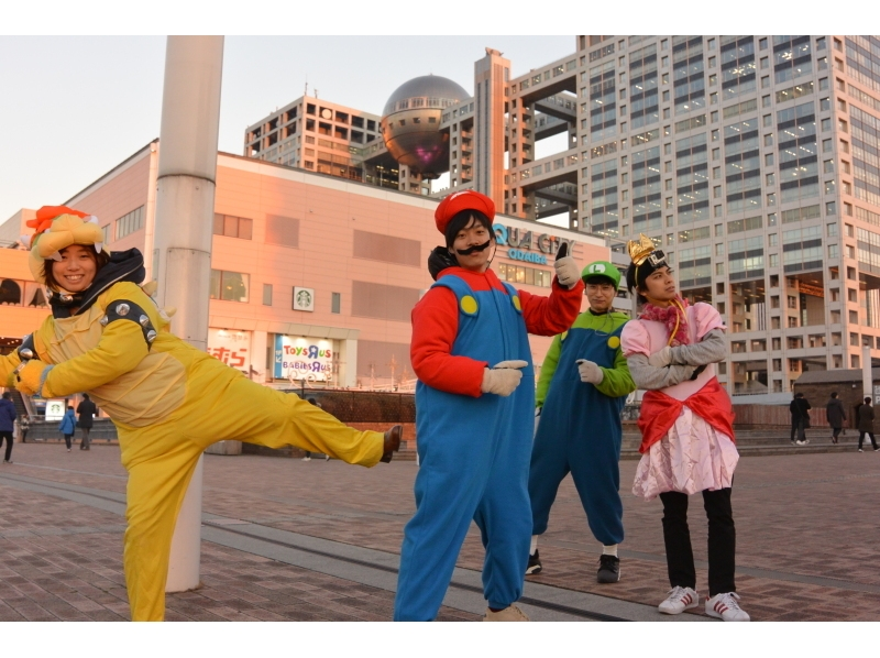 ★ Recommended ★ [you with Odaiba, Tokyo sightseeing tour guide] of the hottest cosplay cart experience 3 hour course of the introduction image