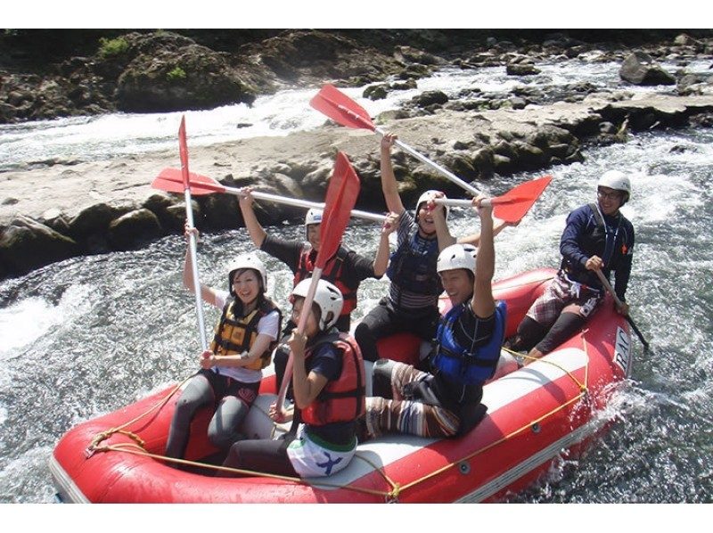 [Kyoto Hozu] easy you in the near-field! For the first time recommendations for rafting tour in person! ! (Half day / afternoon course) Introduction image