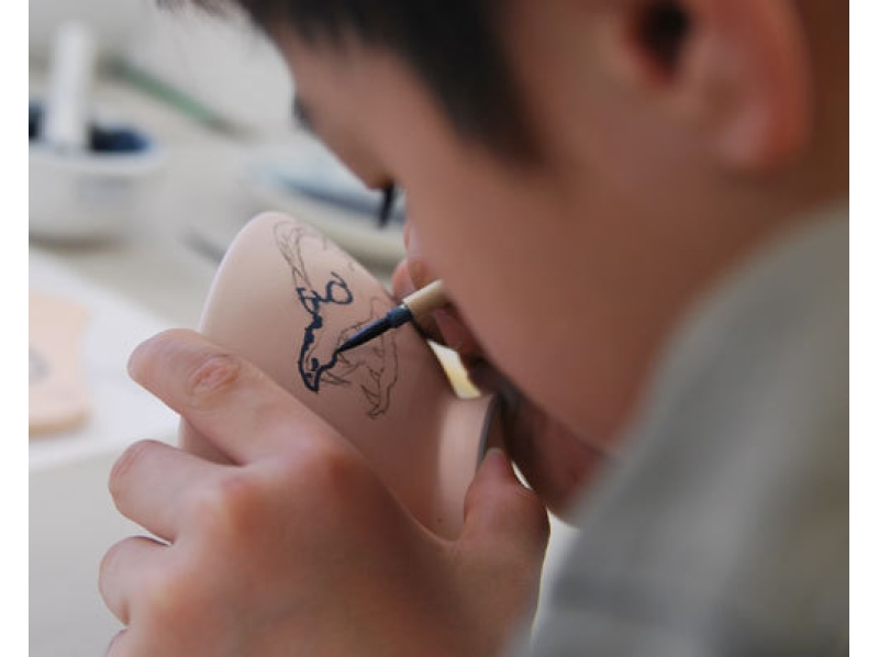 【神奈川・湯河原】絵付けコースの紹介画像