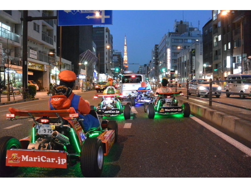 [Handy! Introduction image of the cart experience 2 hour course of the hottest in Tokyo sightseeing tour with guide Cosplay