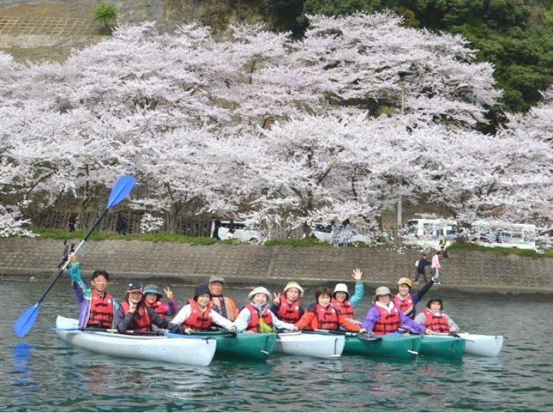 【滋賀】びわ湖お花見カヤックツアー 2017(平日限定グループコース)の紹介画像