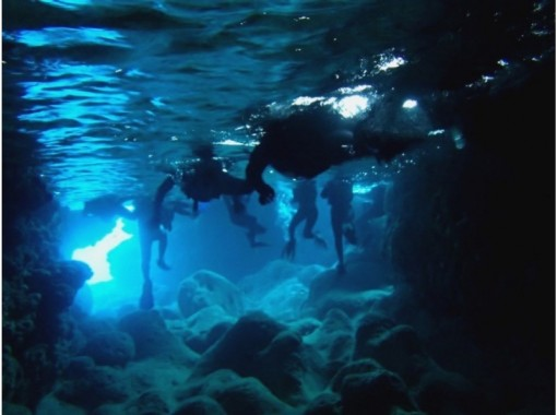 【沖縄・伊良部島】青の洞窟スーパーツアー&グラスボート海底遊覧(地域共通クーポン利用可能プラン)