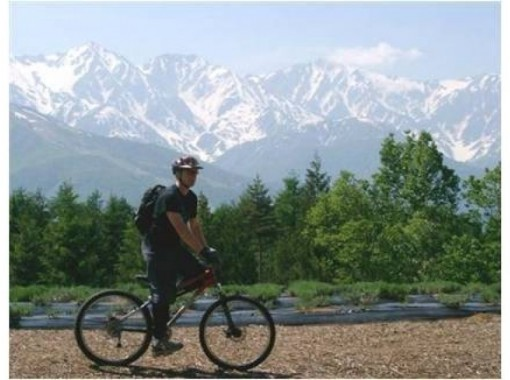 【長野・大町市】春花三昧!レンタルサイクルで北アルプス山麓信濃大町をゆっくりサイクリング