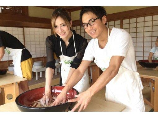 [伊豆/伊豆高原]歡迎家庭和團體!天婦羅,Sa米,小碗和蕎麥套餐的正宗蕎麥麵製作經驗の紹介画像