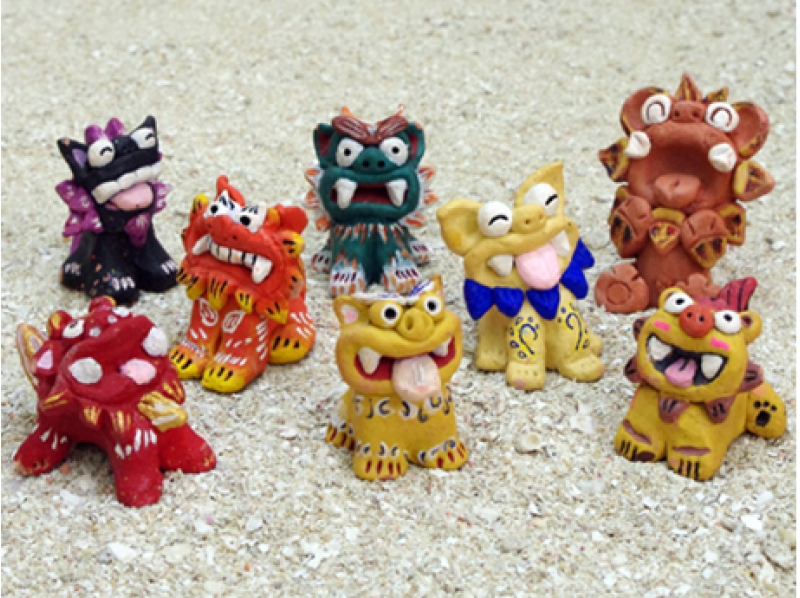 [Okinawa Shisa making experience] probably Kore If you come to Okinawa! Chura Schiesser making + painting experience of introduction image