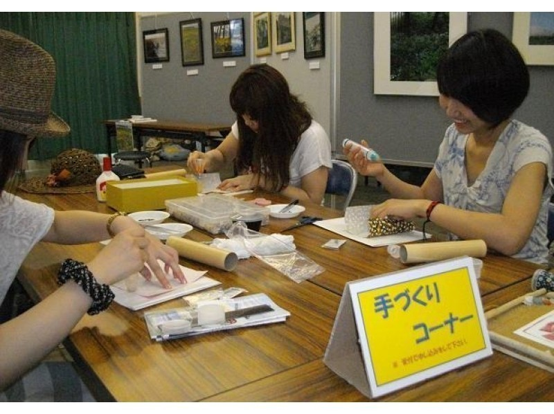 [Kyoto FuKyo Tango City and craft experience] of kaleidoscope-making of the sea to make a single ☆ shells in the world introduce image