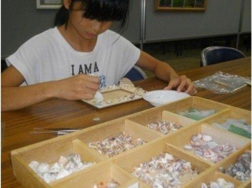 【京都府京丹後市・クラフト体験】海の贈り物☆流木と貝がらのフレーム作り