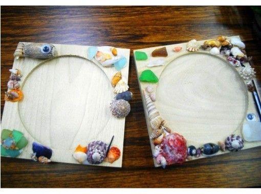 【京都府・京丹後市】クラフト体験~自然素材で彩った可愛いマリンコースターを作ろう!