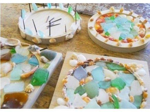 【京都府京丹後市・クラフト体験】自然素材で彩った可愛いマリンコースターを作ろう!