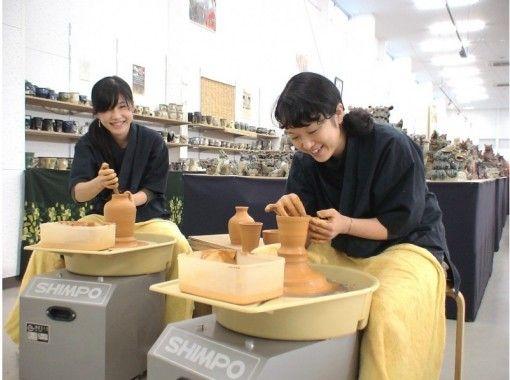 【沖縄県・北部】「電動ろくろ体験」でやちむん作り♪粘土は使い放題!(40分)
