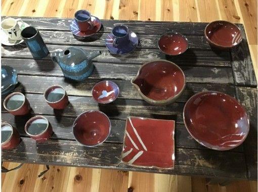 【静岡県・伊豆市】中伊豆の自然の中で1kgの粘土を自由に使って「手びねり陶芸体験」送迎あり